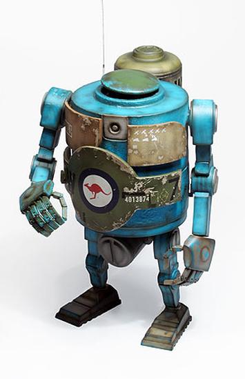 World War Robot 17C