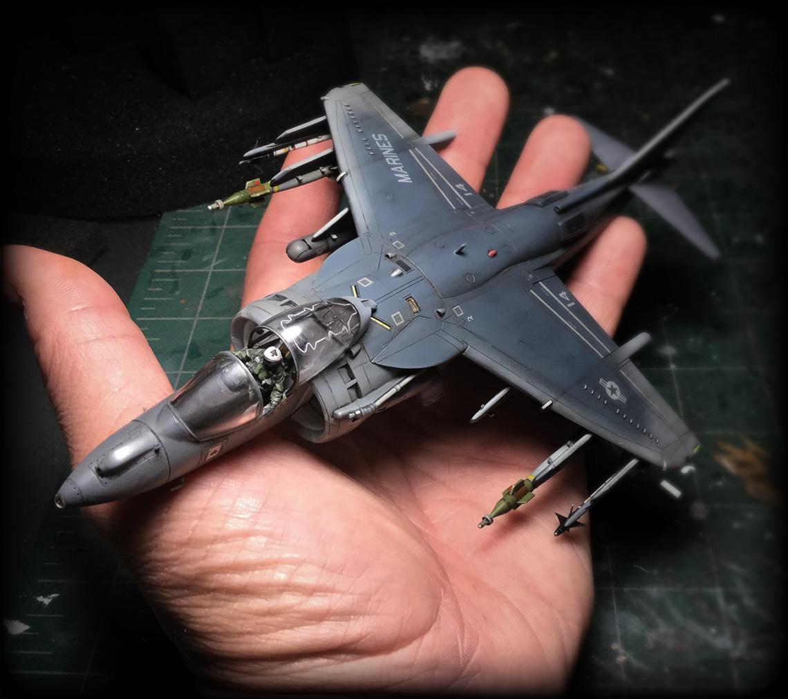 AV 8B Harrier II 17