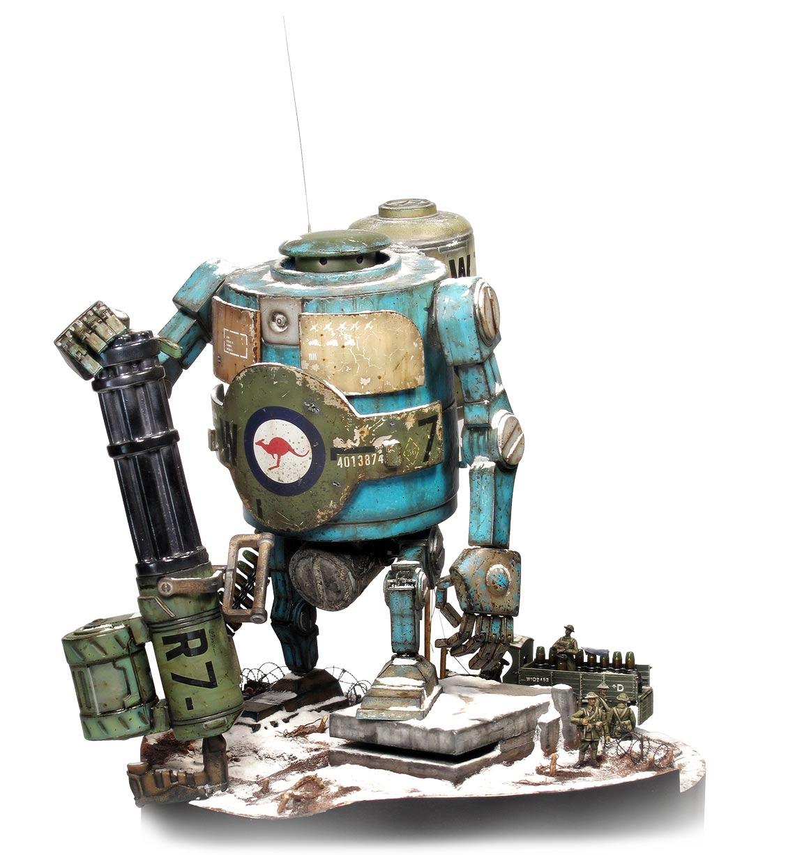 World War Robot 02E
