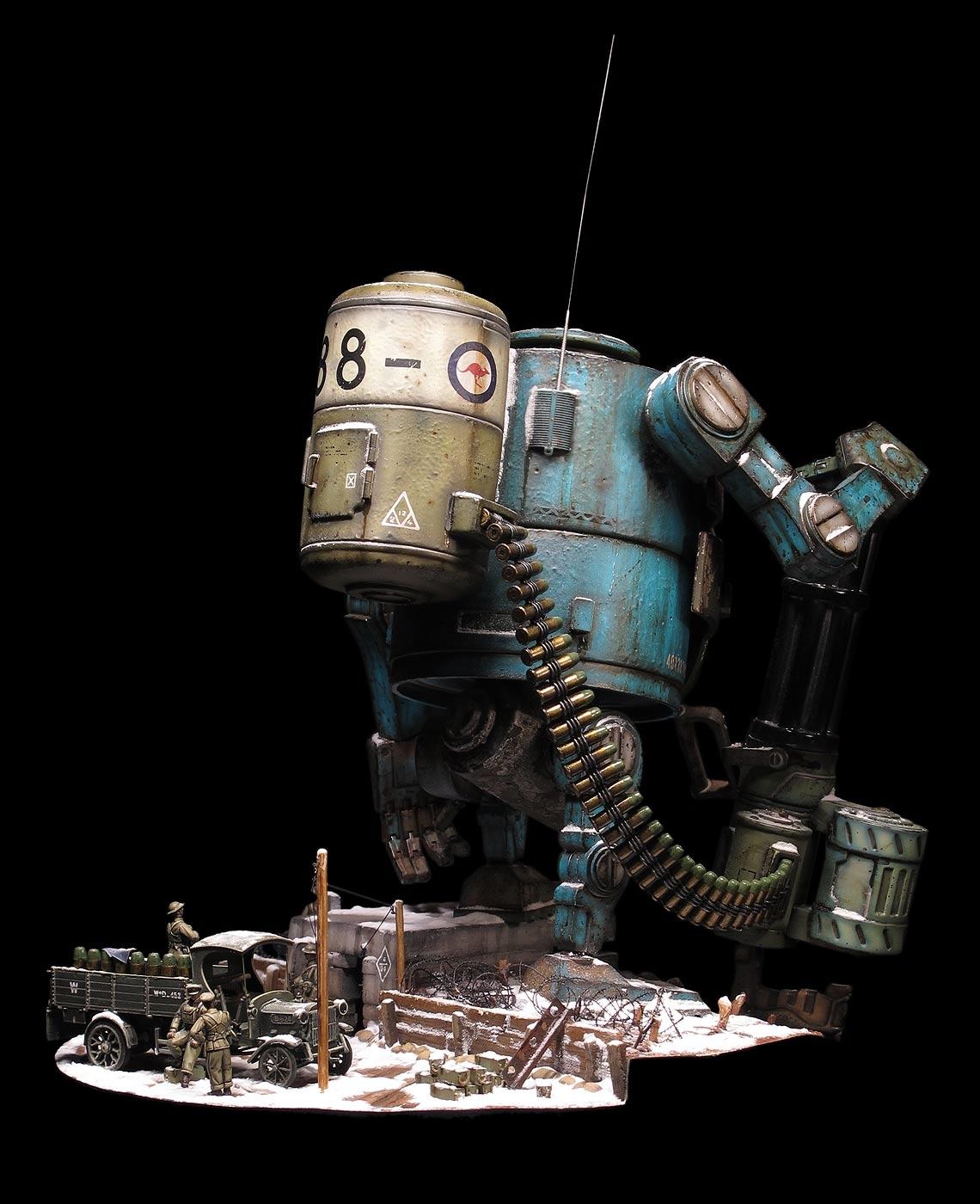 World War Robot 08