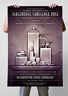 Scale Model Challenge Artwork 2013